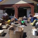 Decluttering garage
